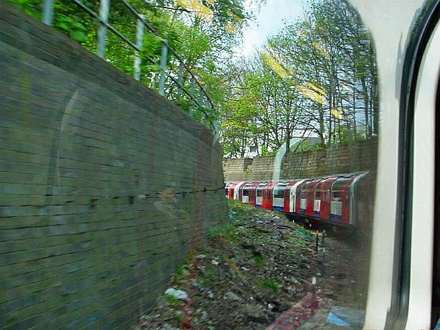 woodla1 - Central Line: beyond Caxton Road