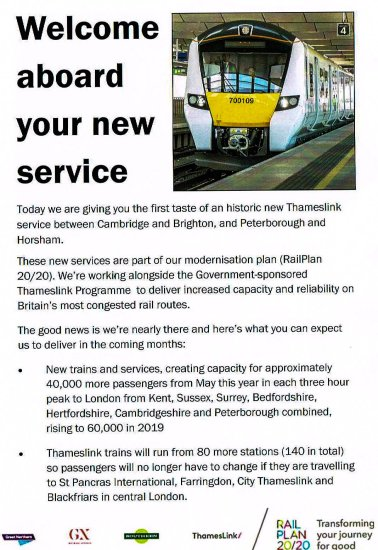 01011215 - Thameslink's Canal Tunnels open!