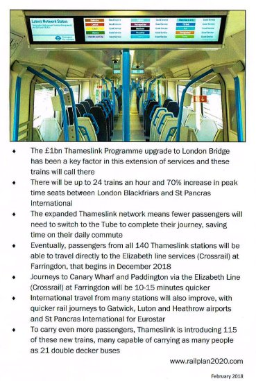 01011216 - Thameslink's Canal Tunnels open!