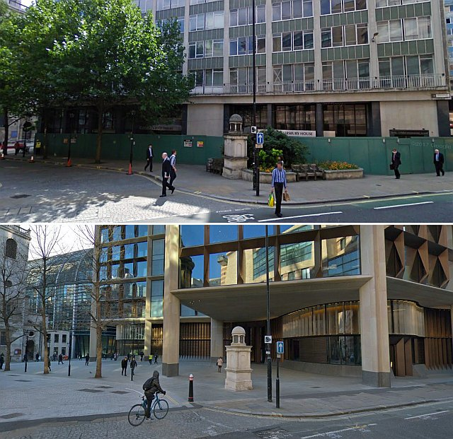 bloombergb4afta - The Tube's new Walbrook entrance finally opens!