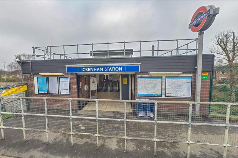 ickenham - Geoff's least used tube stations?