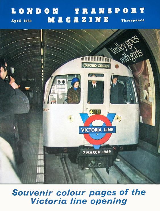 lt1969 - Victoria Line Royal Opening 1969