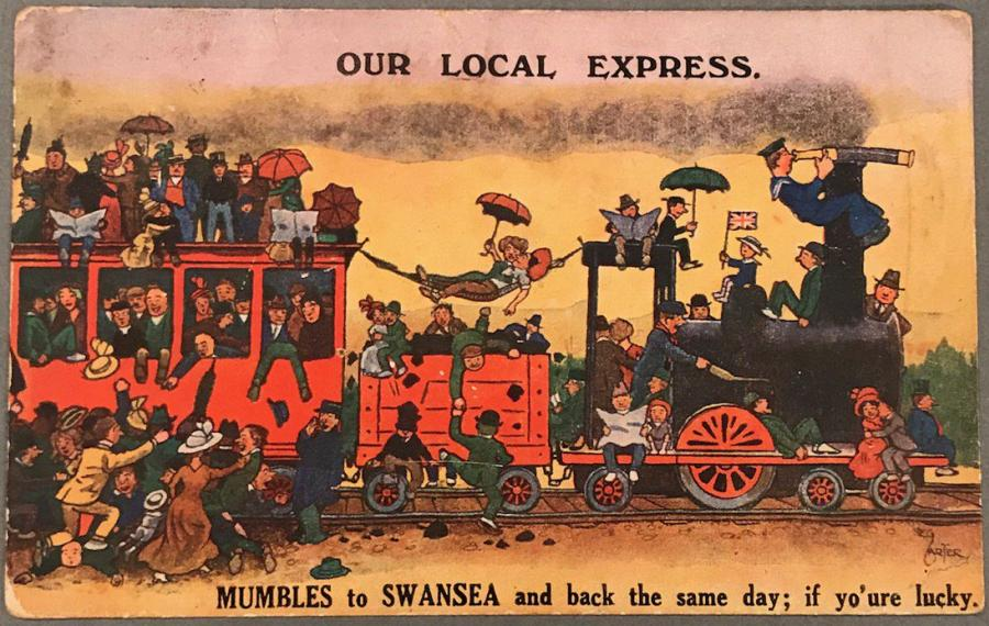 DzXWetvXcAIVeGp - The Swansea & Mumbles Railway